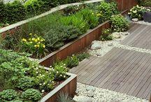 Jardins modernos