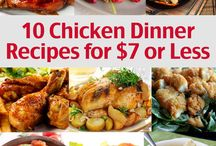 Chicken recipes / by Amy Evans Pendley