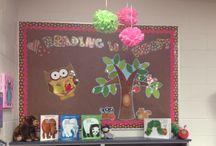 class set up / by Nancy Brasil