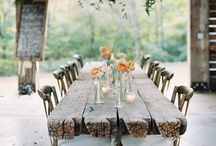 WEDDING || TABLES & PLACE SETTINGS