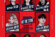 hit the stage mnet !!!!!! fighting