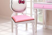 Hello kitty furniture / by Kitty White