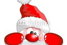 personaggi natalizi buffi