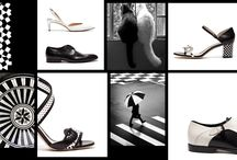 Black and white .. shoes
