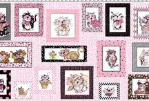 Fancy Cats Fabric