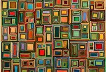 Square paintings