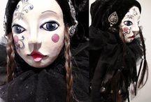 Rokicka Monika Maria, MonaMari / http://neorealproject.republika.pl/lallki.html https://www.facebook.com/miniumart http://www.pinterest.com/sensualart/art-dolls-lalki-artystyczne/