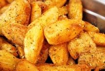 Batatas rústicas.