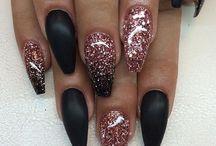 inspiration för naglarna