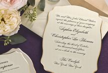 ALL NEW Weddings: Gilded Edges / by William Arthur Fine Stationery