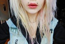 Angel piercings