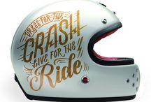 helmet / life's tough. wear a helmet.