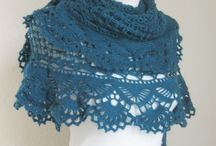 eșarfe tricotate