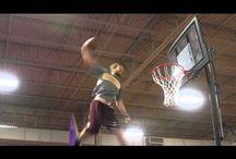 Trampoline basket