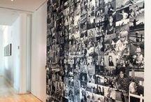 Foton och fotoväggar