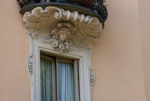 Pencere, balkon. ..