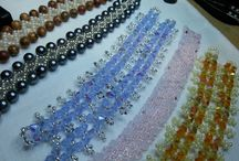 i miei GIOIELLI e ACCESSORI / bijoux e accessori vari realizzati da me,a mano