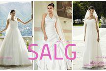 Årets brudekjole SALG er i gang. Brudekjoler til en billig penge kan du sikre deg NÅ. / Fantastisk flotte brudekjoler til knallbra pris Nå