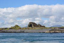 The Slate Islands / Scottish Islands historically linked by slate mining.
