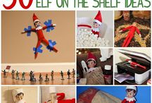 Elf on a Shelf antics / Well, you see, there's this elf who likes to snoop before Christmas and report to Santa who's been naughty and who's been nice. If you're wondering where to tell the elf to hide, we have collected some ideas for you. / by The Monroe News