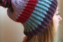 Knitted Hats / http://www.lowlandoriginals.etsy.com