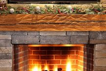 Reclaimed Carved Wood Mantel