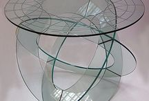 Glass tables and more / So awesome, I love glass / by Susan Vigil