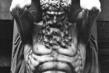 мужские скульптуры
