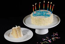 """Birthday Cakes! / When you can't be there in person, send a birthday gift they won't soon forget. Order in advance and choose your preferred delivery date. We Take The Cake will deliver a fresh birthday surprise—on time, beautifully packaged, with a customized greeting. We Take The Cake can write """"Happy Birthday!"""" on any cake and include candles."""
