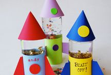First birthday party 'Ad Astra' / Ideas for Jackson's first birthday - rockets and stars
