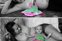 Prego and baby pic ideas  / by Christina Easler