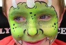 Face paint / Schmink