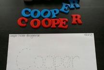 Coopers school/art activities