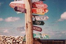 Escape / journeys, especially abroad.
