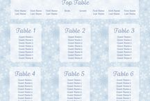 Christmas and Winter Wonderland Table Plans