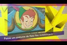 Idées de déguisements à fabriquer soi-même, guides pour filles, bébés et garçons / Vidéo de présentation des tutos pour fabriquer des costumes d'enfants pour fête d'anniversaire, carnaval, halloween et autres fêtes...