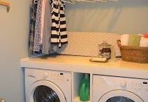 Laundry room / by Dusti Bennett