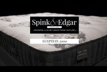 Egyptian 3000 / The Egyptian earns its rightful place in the Spink & Edgar tradition by adhering to our core values. 3,000 individually wrapped coils blanketed with supple cotton comfort layers.