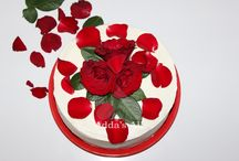 Torta / Torta Red Velvet decoration my way/Torta red velvet e dekoruar sipas shijes time