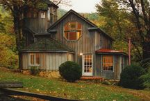 ~Tinny cottages~rustic~wood~