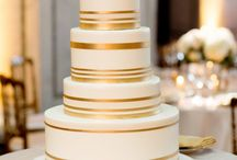 Wedding Cake (Gold details)