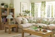 sofas verdes claro