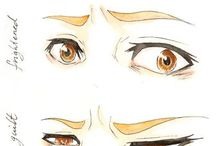 how to draw eyes in manga