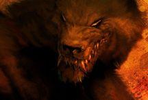 Werewolves / Werewolf art