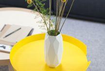 Żółte poduszki - inspiracje / Wybrane żółte poduszki dekoracyjne i odpowiednie stylizacje i inspiracje.