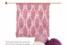 Tricot et crochet / Dentelle au tricot
