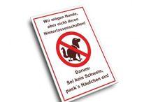Hundeschilder
