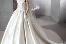 ZULMA zárt csipke felsős esküvői ruha a Rosabella Szalonban