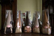 Pannolenci / Fermaporta in pannolenci realizzati a mano