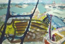 Artworks from St Ives 1928 - 1960's / British art school